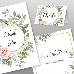 Invitations & Place Cards